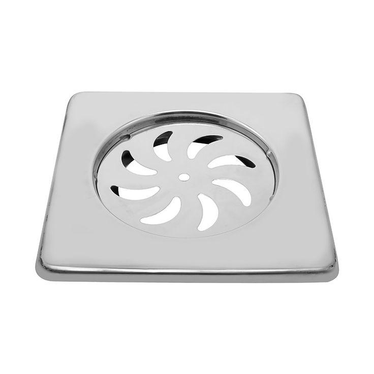 -Klaxon Bathroom Bathroom Floor Drain Jali - Square - 35x3x5 #Kriosdirect #Floor_Drain
