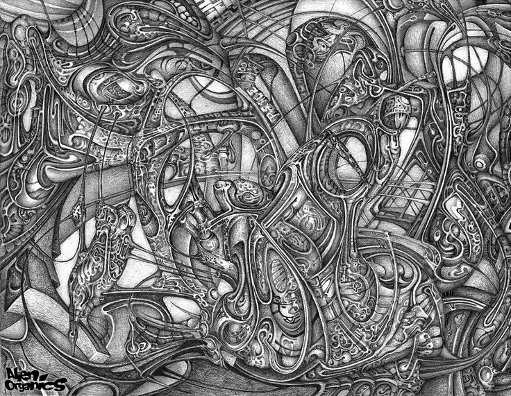 """""""Unrelentless"""" (2014) @deviantART,  pencils."""