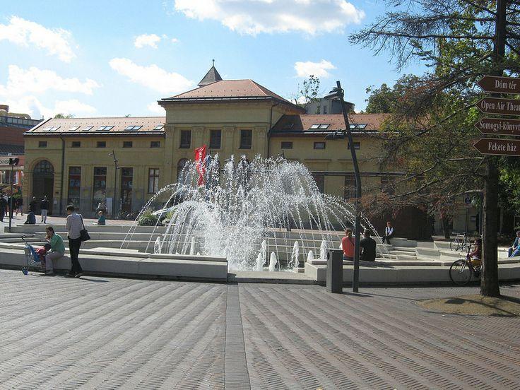 Dugonics square, Szeged, Hungary