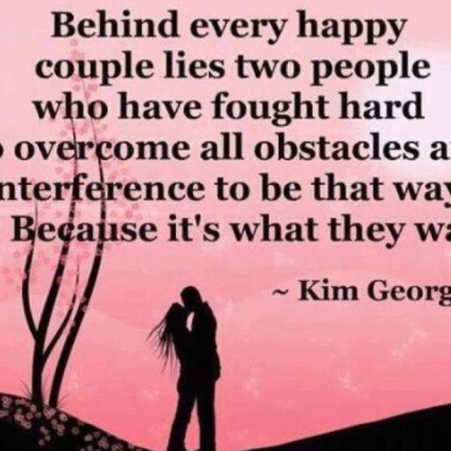 Quotes About Overcoming Challenges In Relationships Behind every happy cou...