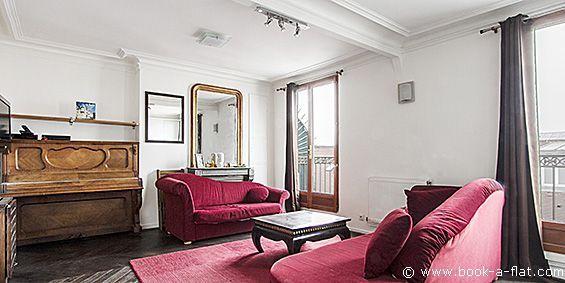Apartment rental 1 bedroom Paris rue Pavée 4th District - Nearest metro St-Paul