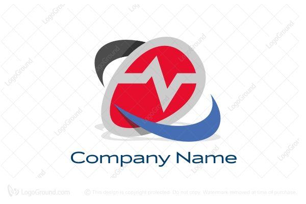 Logo for sale: EKG Logo