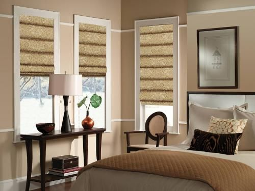 Just found the perfect window treatments!! - Blinds.com. – Classic Roman Shades #homedecor #blinds #roman-shades