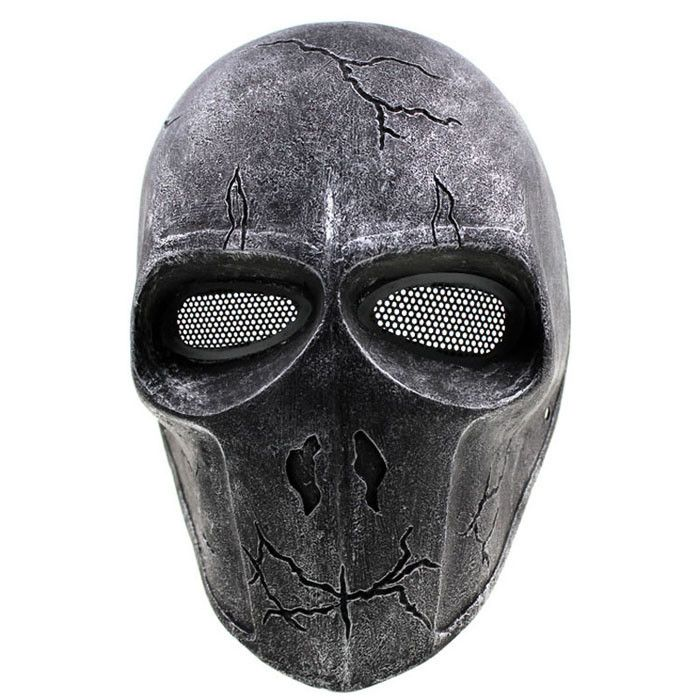 GRP Mask Anime Deathstroke Horror Mask Deathstroke Cosplay Mask Glass Fiber Reinforced Plastics Mask