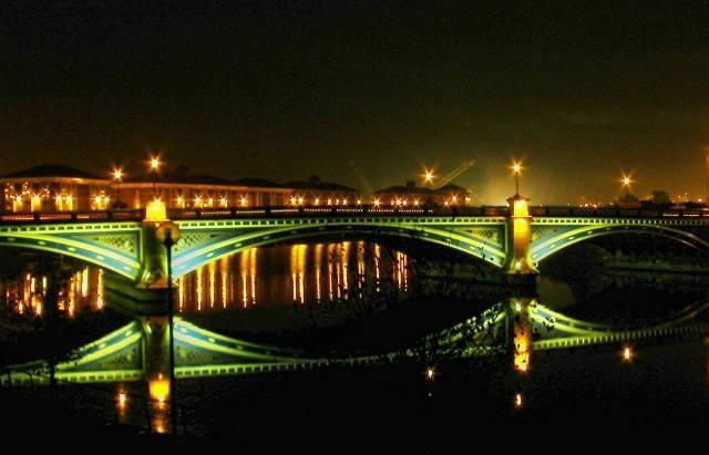 Entry 82: 'Thornaby Bridge at Night' by Steve Hocking - http://www.camera-shutter.com