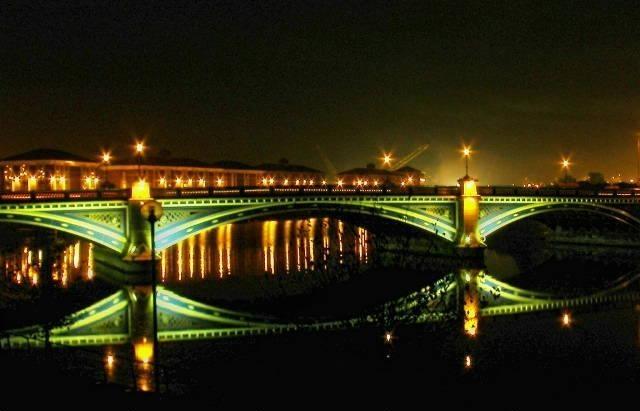 Entry 82: 'Thornaby Bridge at Night' by Steve Hocking - http://www.camera-shutter.com
