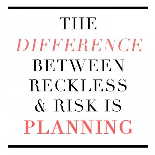 the importance of risk taking for the success of a business Why risk is important do they thrive on the adrenaline of risk-taking the risk of your endeavor and the higher the probability of success.