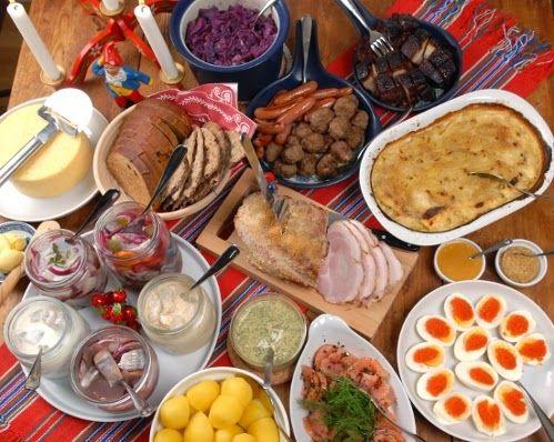А вы не путайте экскурсию с эмиграцией: Рождественский шведский праздничный стол
