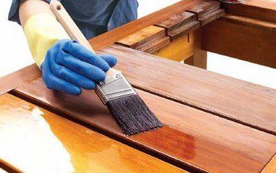 Como barnizar muebles de madera con brocha : PintoMiCasa.com