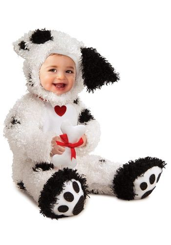 Baby Dalmatian Costume.  Ok, I'll admit it.  I only pinned it here because it is so cute!