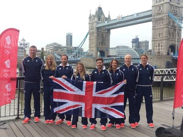 GB Sailing Team For Rio 2016. Congrats to Hannah Mills & Saskia Clark