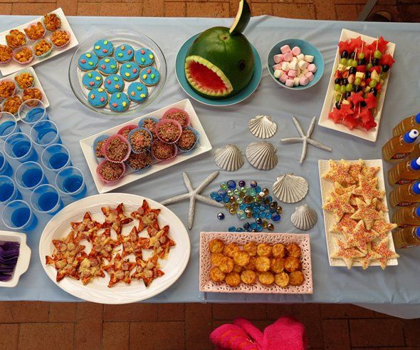 Mermaid Party Food Ideas for Kids | Childhood101
