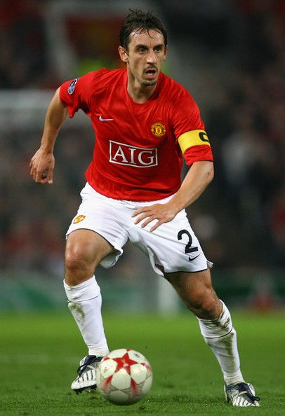Position - RB  Gary Neville