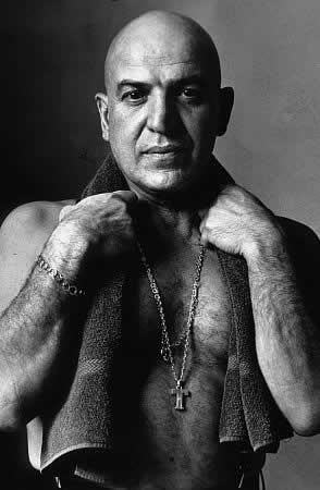 """Telly Savalas (1922-1994). He was a film & TV actor, singer. Best known for his role in """"Kojak"""""""