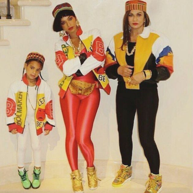 Beyoncé, Jay Z, Blue Ivy And Tina Lawson Slay Their 80s-Inspired Halloween Costumes from essence.com