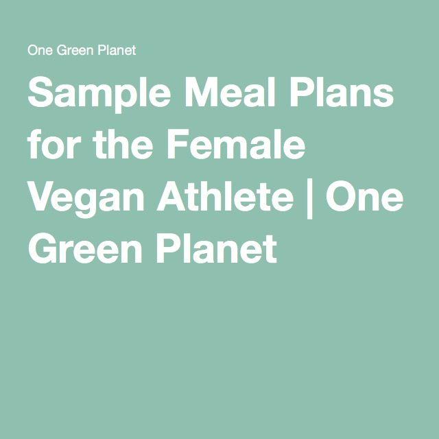 vegan athlete meal plan pdf