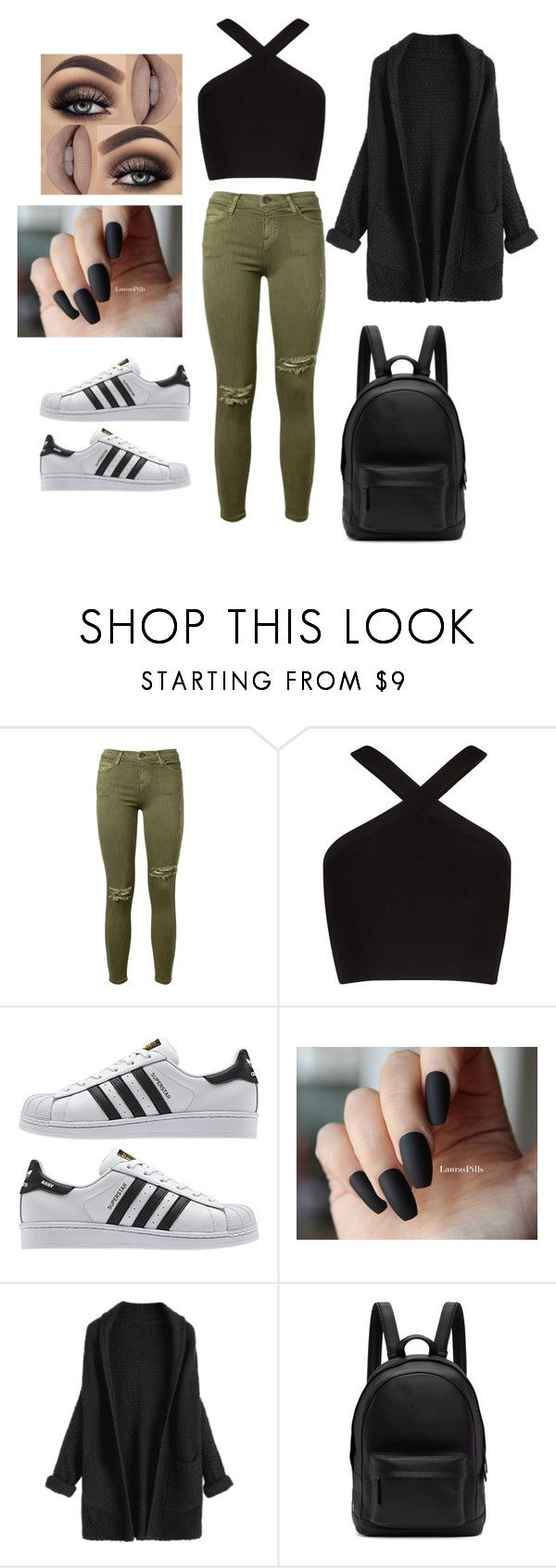 """""""Untitled #182"""" by jessiecary on Polyvore featuring Current/Elliott, BCBGMAXAZRIA and PB 0110"""