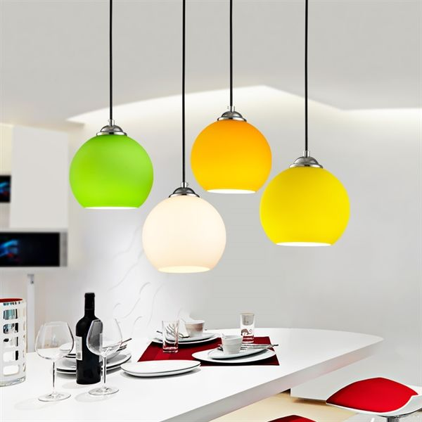 Buy Modern Minimalist Bubble Glass Pendant Light Ceiling Lighting Fixtures Interior Lighting 1 Light Dining Room Living Room Bedroom Lighting with Lowest Price and Top Service!