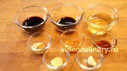 Ингредиенты для приготовления Соус Винегрет с медом и горчицей