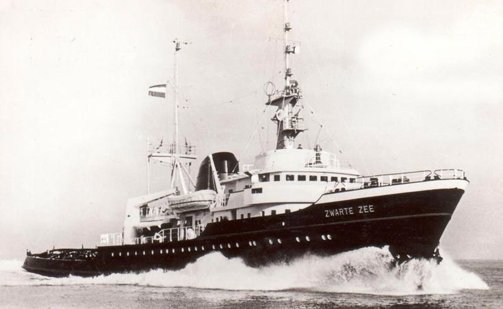 Smit Zeesleper De Zwarte Zee IV 1963