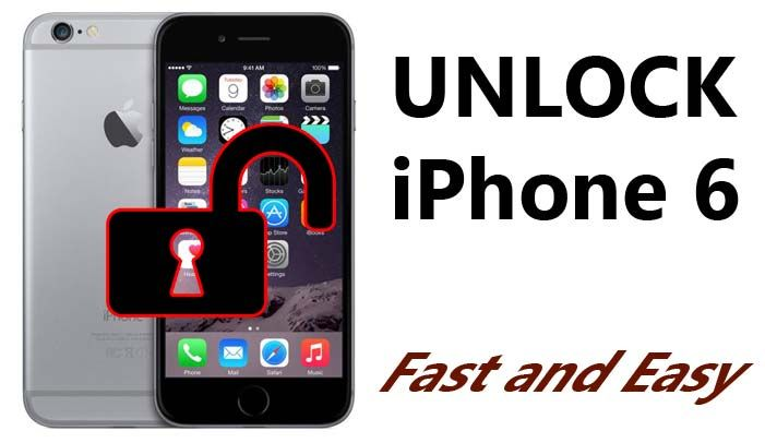 How To Unlock Iphone 6 With Easy Steps Unlock Iphone Unlock My Iphone Iphone Tutorial