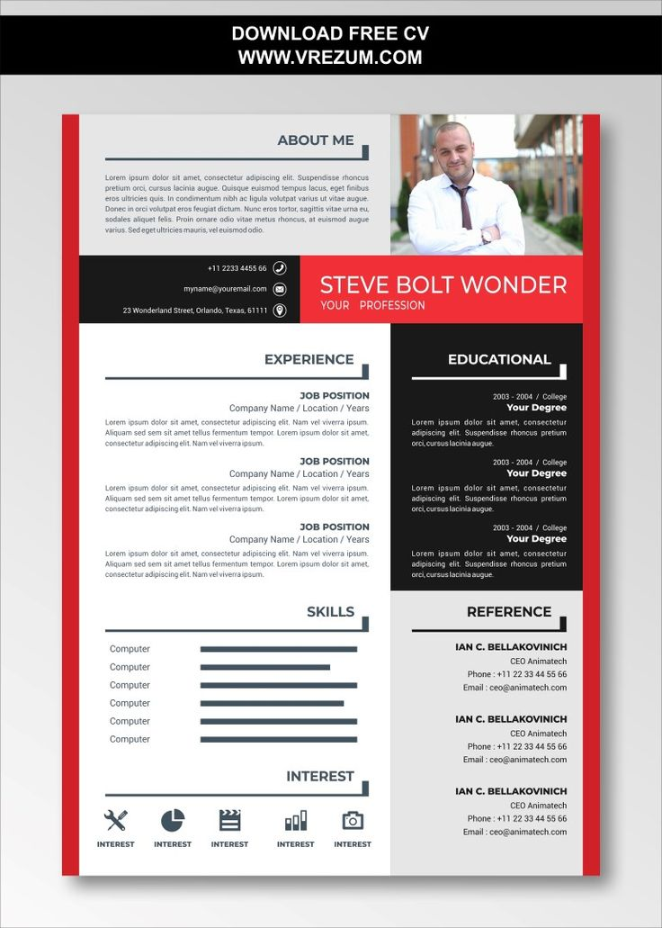(EDITABLE) FREE CV Templates For Engineering Students in