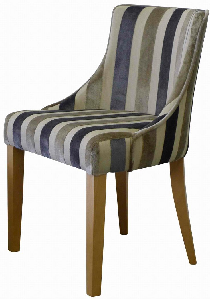 Milano. We've teamed this charming classic curve back chair with the stunning Venetian Jacquared Velvet collection from Covertex. Offering a palette of 14 colours in 2 distinctive designs and a faux Linen background this chair compliments any dining room setting. Currently on offer for just £159...