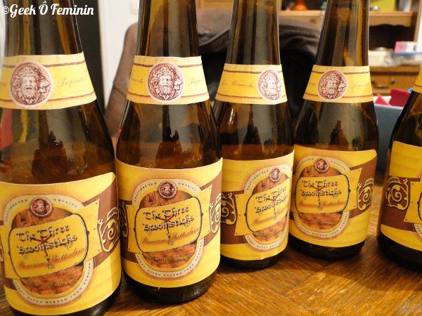 Faire un repas Harry Potter #1 : la bieraubeurre et les potions apéritives