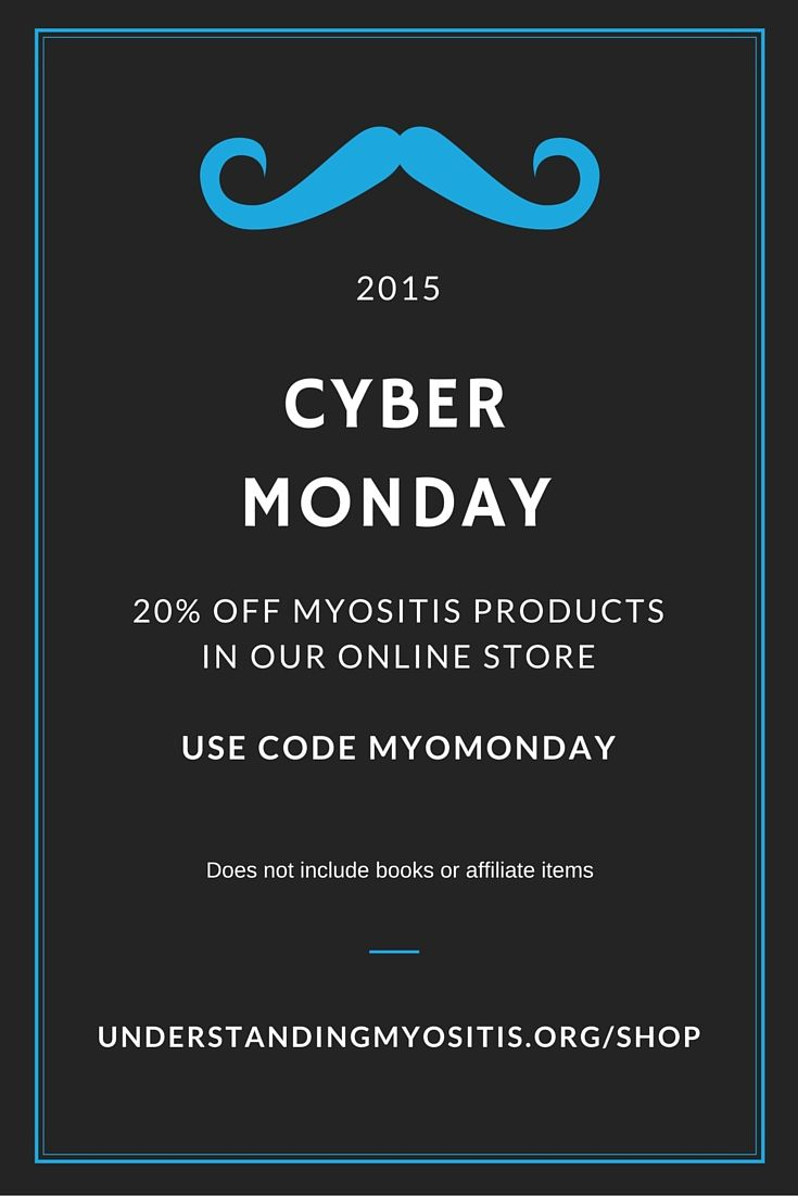 54 best myositis fundraising images on pinterest fundraisers cybermonday specials in our myositis shop on myositis fundraisingcoupon codesfundraisers fandeluxe Image collections
