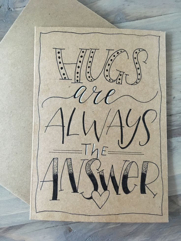 Hugs are always the answer