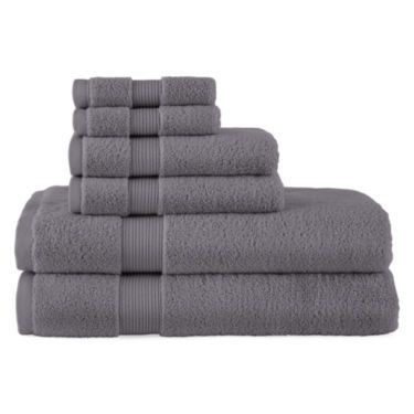Royal Velvet 174 Signature Soft Solid Bath Towels Grey
