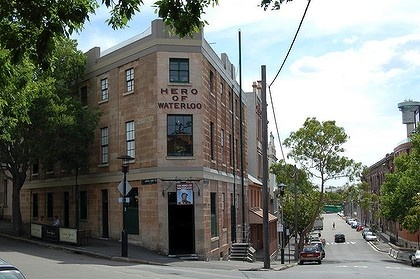Hero of Waterloo pub - one of the oldest pubs in Sydney and one of my favorite nights out with my brother-in-law, Brad, Steven and Mindy!  Such a funny night!