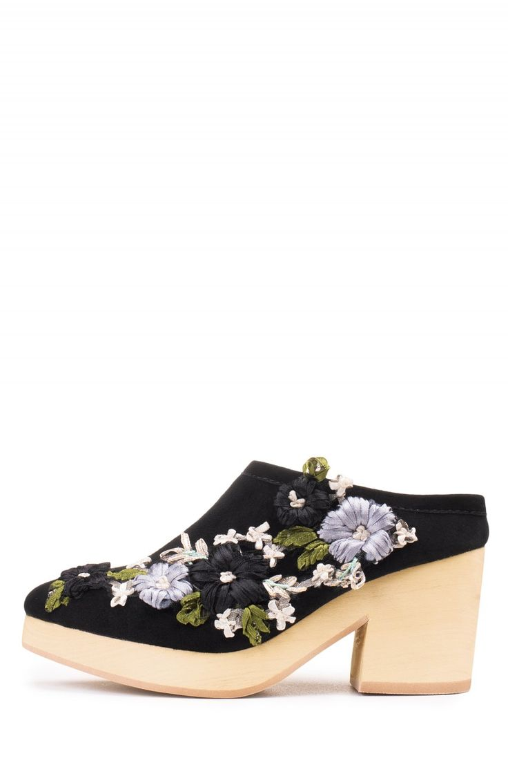 Jeffrey Campbell Shoes BODIL-FLR in Black Multi