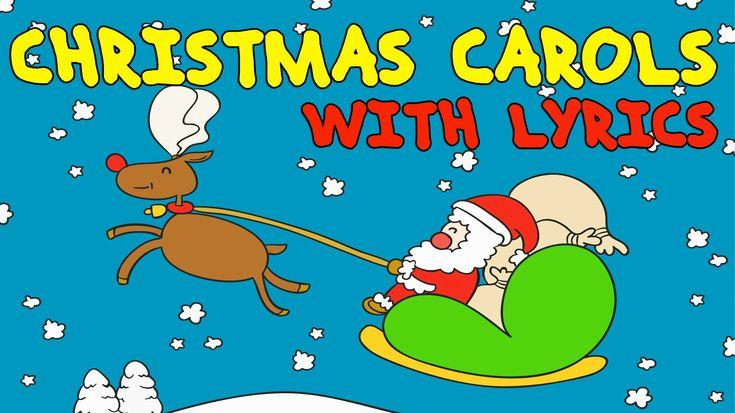 ❄ CHRISTMAS Songs for Kids with Lyrics ❄ Christmas Carols for Children (...