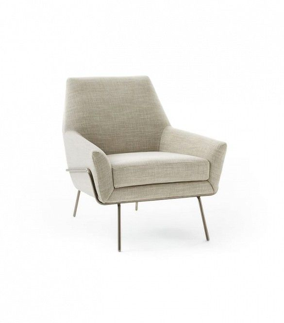 West Elm Lucas Wire Base Chair