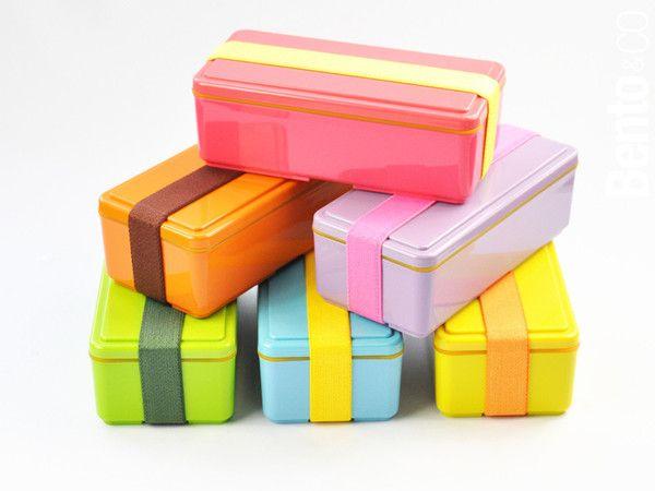 Boîtes Bento Gel Cool taille M. Gardent au frais votre repas grâce à leur couvercle.