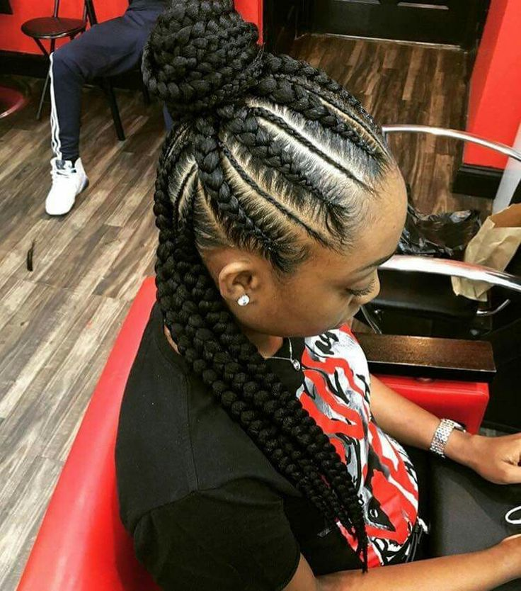 Love This Braided Style So Simple And Cute Lastylist Curlupanddyejanet Pinteres