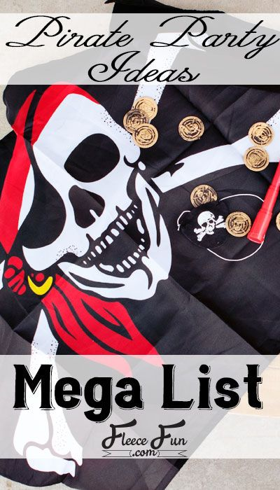 Avast me hearties! There be fun ahead. These pirate party ideas are what you need to play like a pirate with these great ideas that any captain would love! I have pirate party games, printables and other fun ideas to make your pirate party a swash buckling success!