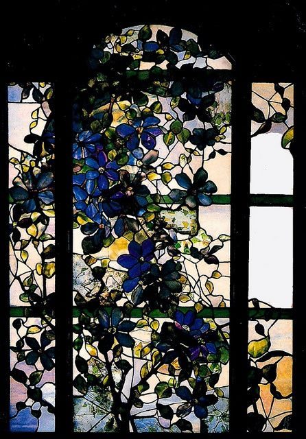 Clematis Window, Tiffany, 1900-1910