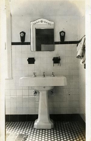 Vintage Bathroom Sink Reminds Me Of The House Where The Kids Grew Up