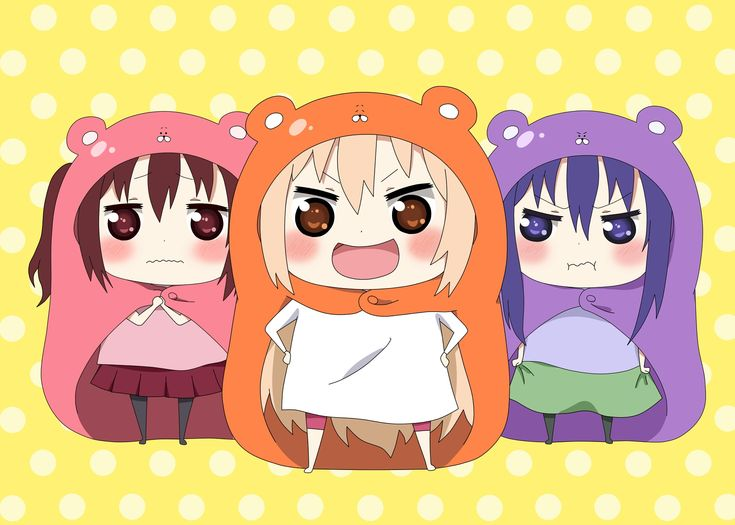 Pixiv Id 14043069, Himouto! Umaru-chan, Ebina Nana, Doma Umaru, Motoba Kirie
