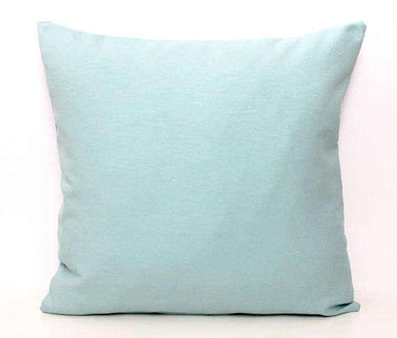 Solid Mint Pillow Mint Pillow Mint Scatter Cushion