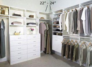 Master+walk+in+closet+ideas | Closet Design Company   Walk In