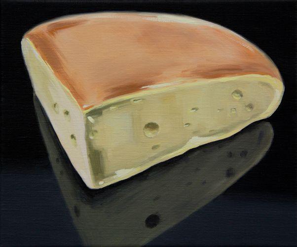 Cheese XX, oil on linen, Sally Kindberg, 2013