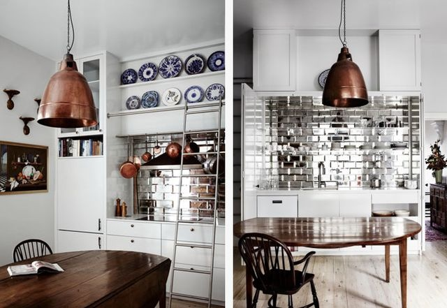 Arent & Pyke kitchen copper
