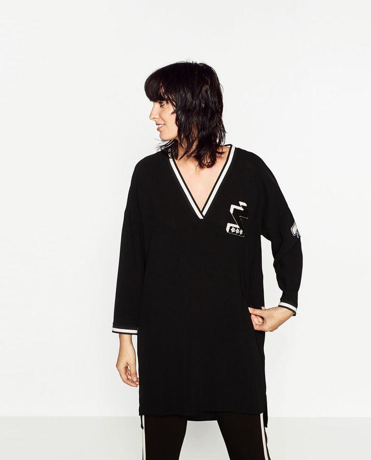 Zara femme robe de cocktail