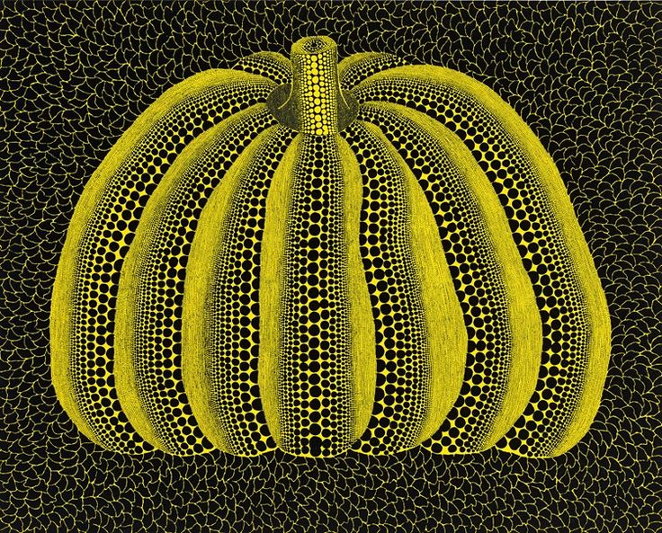 View Pumpkin [KUER] by Yayoi Kusama's at Victoria Miro in Wharf Road, London, United Kingdom. Browse now on Ocula.