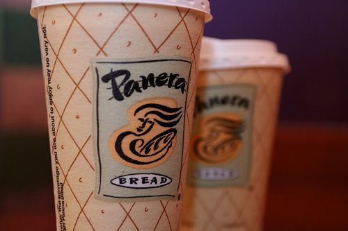 Coffee: the perfect pick-me up for a hectic day! #panerabread: Panera Coff, Mypanera Cards, Panera Breads, Coffee Cups, Panerabread, Ice Coffee, Free Coffee, Sunday Mornings Coffee, Cups Of Coffee