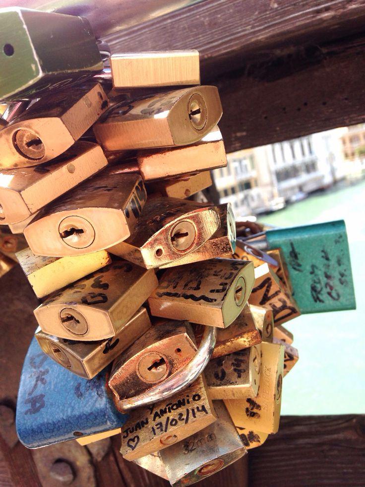 Love locks - Venice