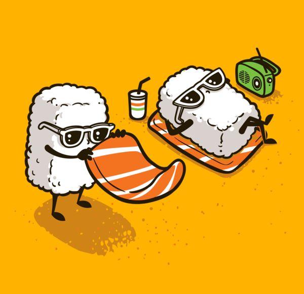 Summer Sushi - Tees